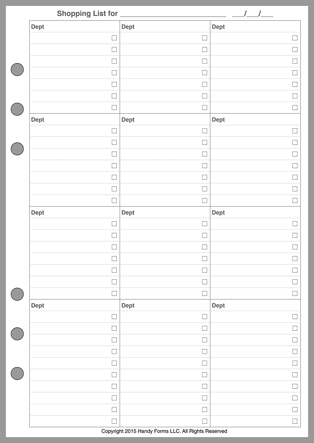 image regarding A5 Planner Printables referred to as A5 Sizing Toward Do Record Planner webpages, Sized and Punched for 6-Ring A5 Notebooks through Filofax, LV (GM), Kikki K, TMI, and other individuals. Sheet Dimensions 5.83\