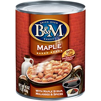 B&M Real Maple Flavor Canned Baked Beans