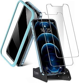 2-Pack Casekoo Shatterproof iPhone 12 Pro Max Screen Protector
