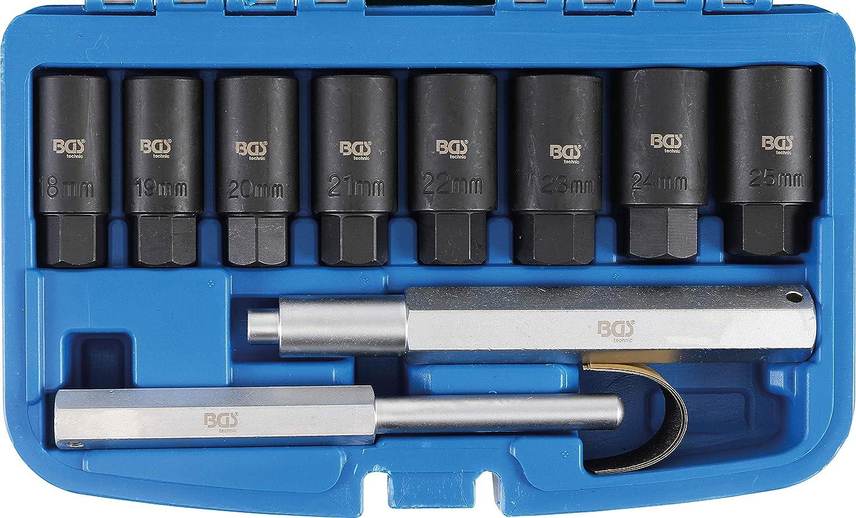 Radbolzen Demontage Set 10 tlg Lösewerkzeug Demontagehülsen Felgenschloss