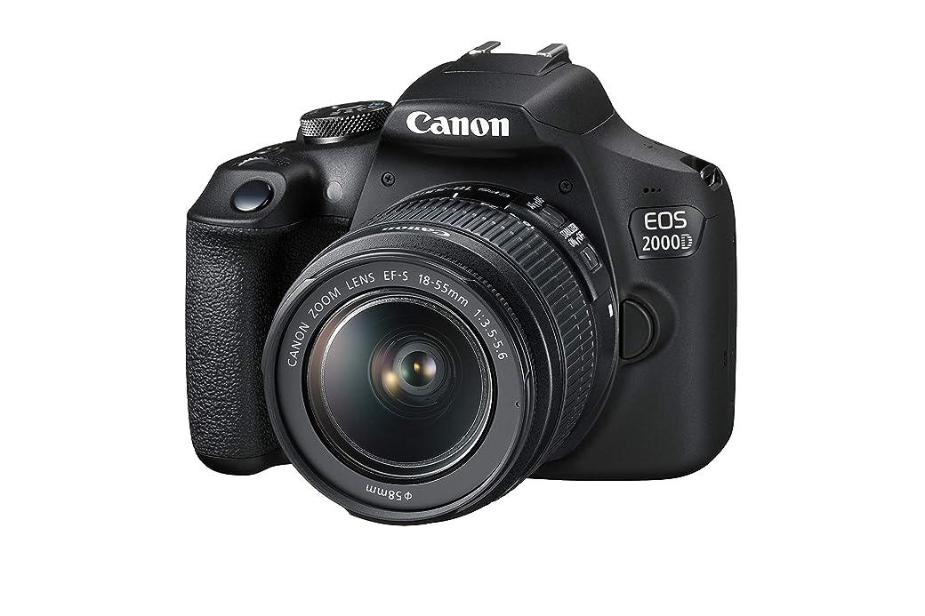 Canon EOS 2000D + EF-S 18-55mm f/3,5-5.6 III Juego de Cámara SLR