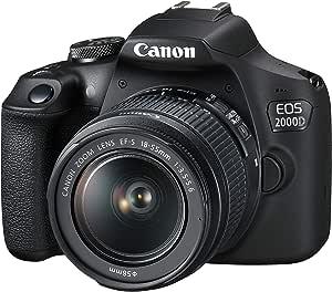 Canon EOS 2000D EF-S 18-55mm III Lens , 2728C002, BLACK
