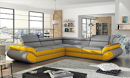 BMF EVO futurista diseño Esquina sofá Cama 4 - 5 Personas ...