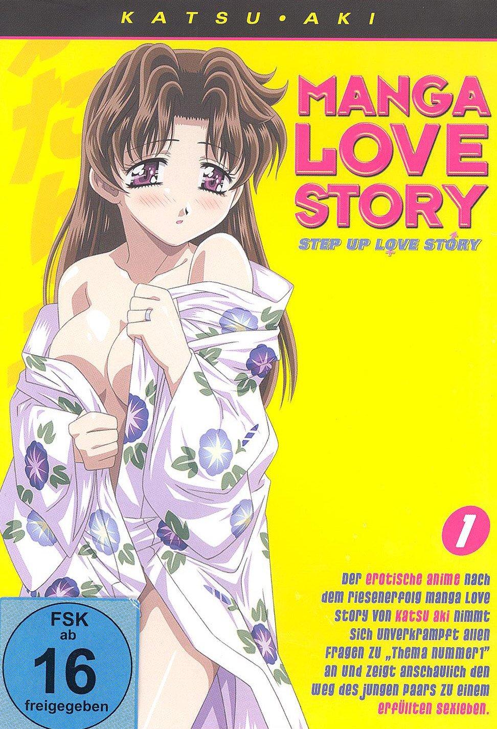 Step Up Love Story Manga Love Story 1 Amazon De Hiroshi