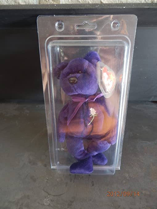 Image Unavailable. Image not available for. Color  Ty Beanie Babies Princess  Diana 1997 Original ... 6b26850d841