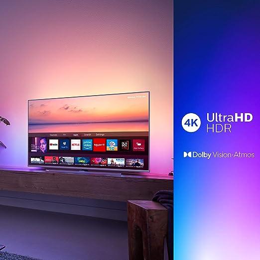 Philips 65PUS6814 - Smart TV con Alexa Integrada, Ultra HD 65
