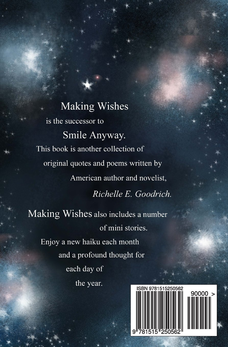 Making Wishes Quotes Thoughts A Little Poetry For Every Day Of