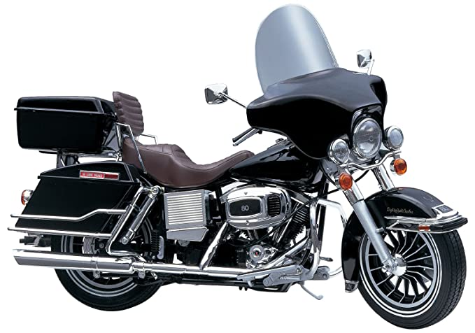 Buy Aoshima Models FLH Electra Glide with V-Twin Engine