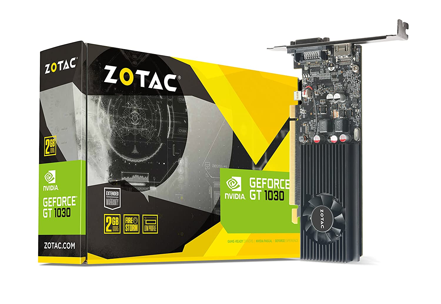 Amazon.com: ZOTAC GeForce GT 1030 2GB GDDR5 64-bit PCIe 3.0 DirectX 12 HDCP  Ready Low Profile Video Card ZT-P10300A-10L: Computers & Accessories