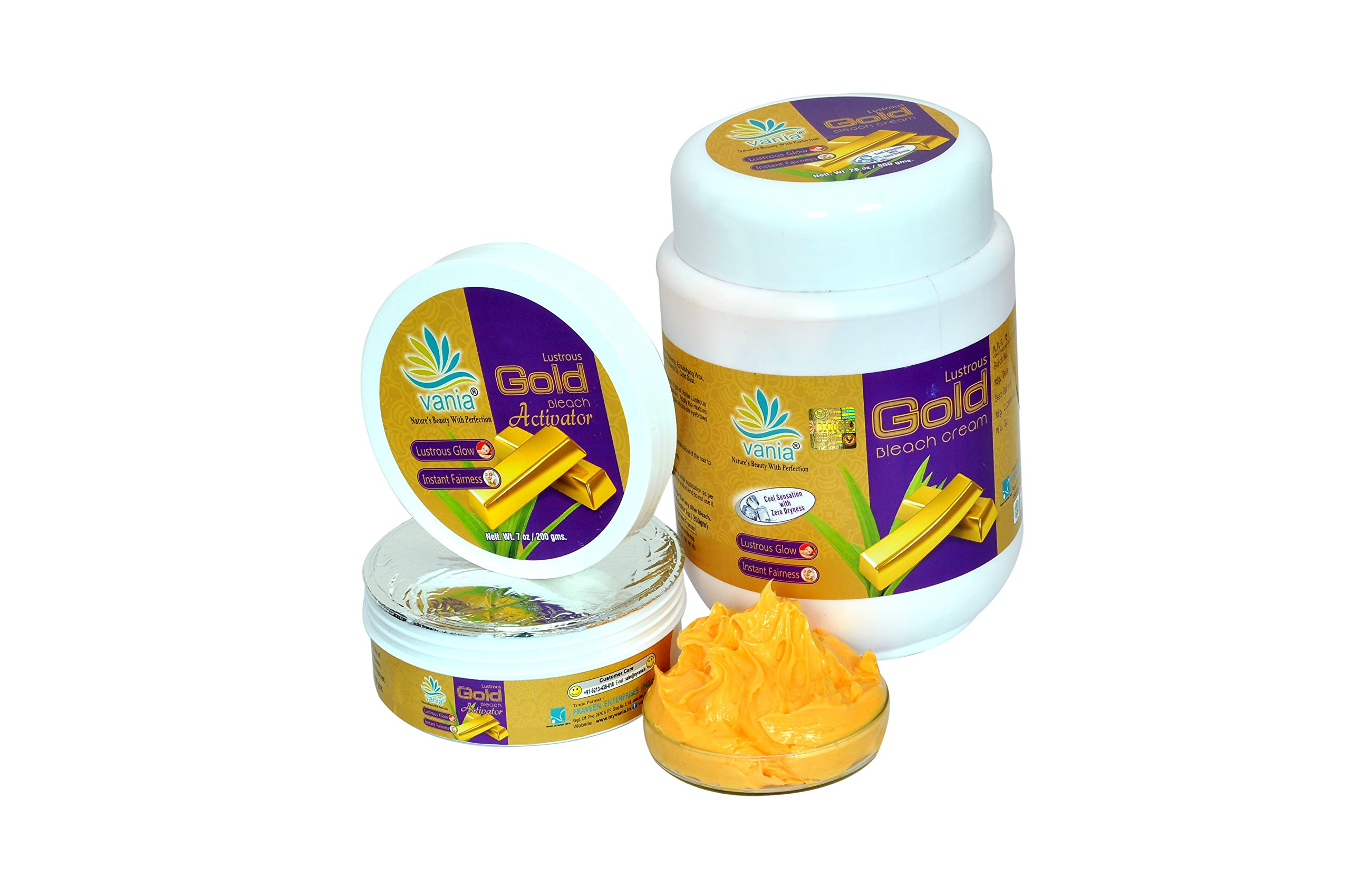 Vania Gold Bleach Cream 1000 Gm product image