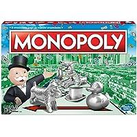 Hasbro Gaming Juego de Mesa Monopoly Clásico