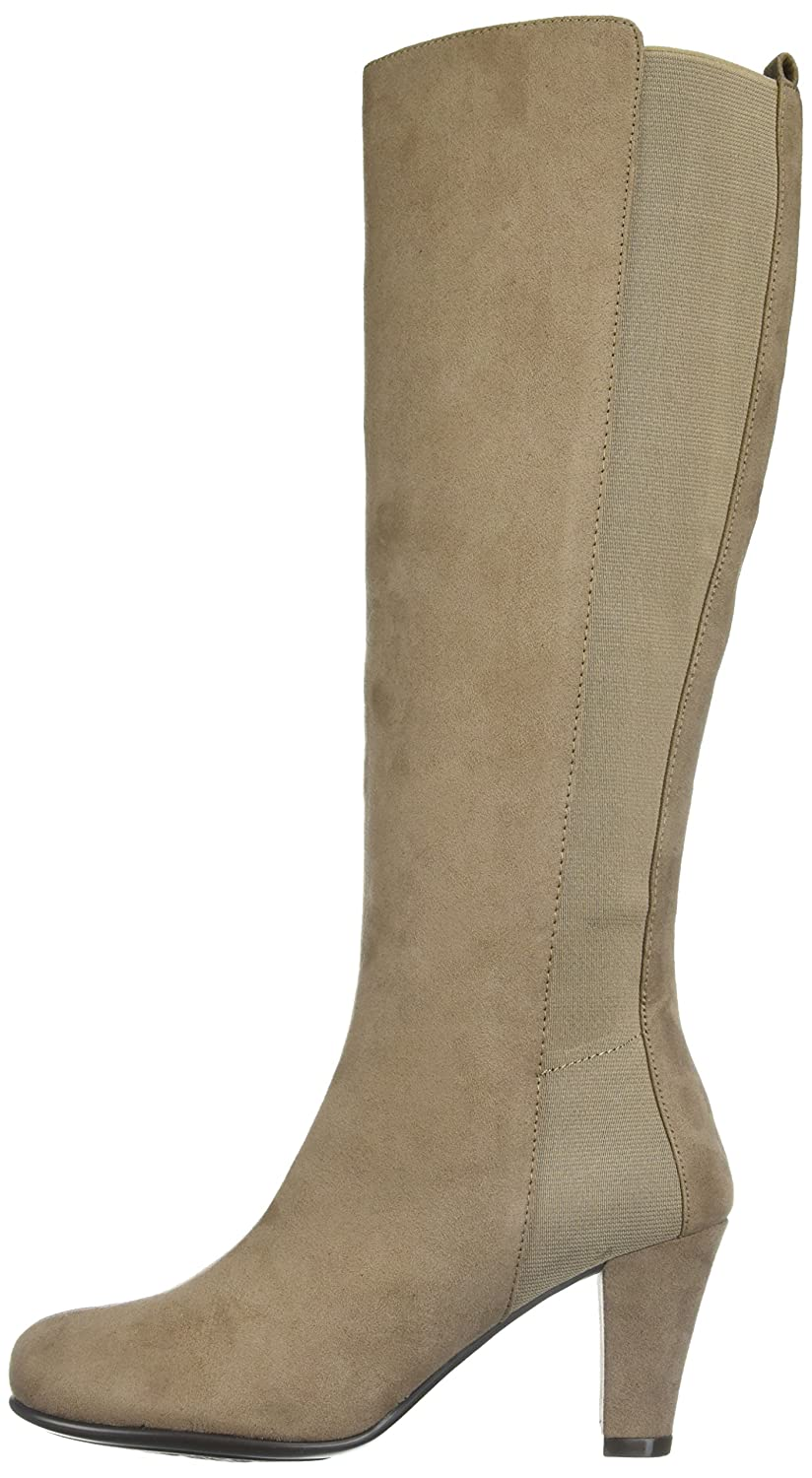Aerosoles Women's Quick Role Knee High Boot B074GGZ1Z4 9.5 W US|Taupe Fabric