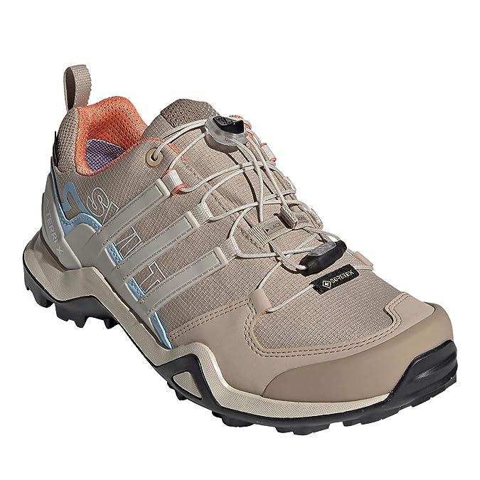 adidas Terrex Swift R2 GTX Outdoor Shoes Damen Trace KhakiCollegiate BrownGlossy Blue 2019 Schuhe