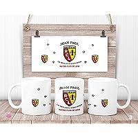 Mug RC Lens personnalisé - Mug Racing Club de Lens - cadeau anniversaire - cadeau de noël