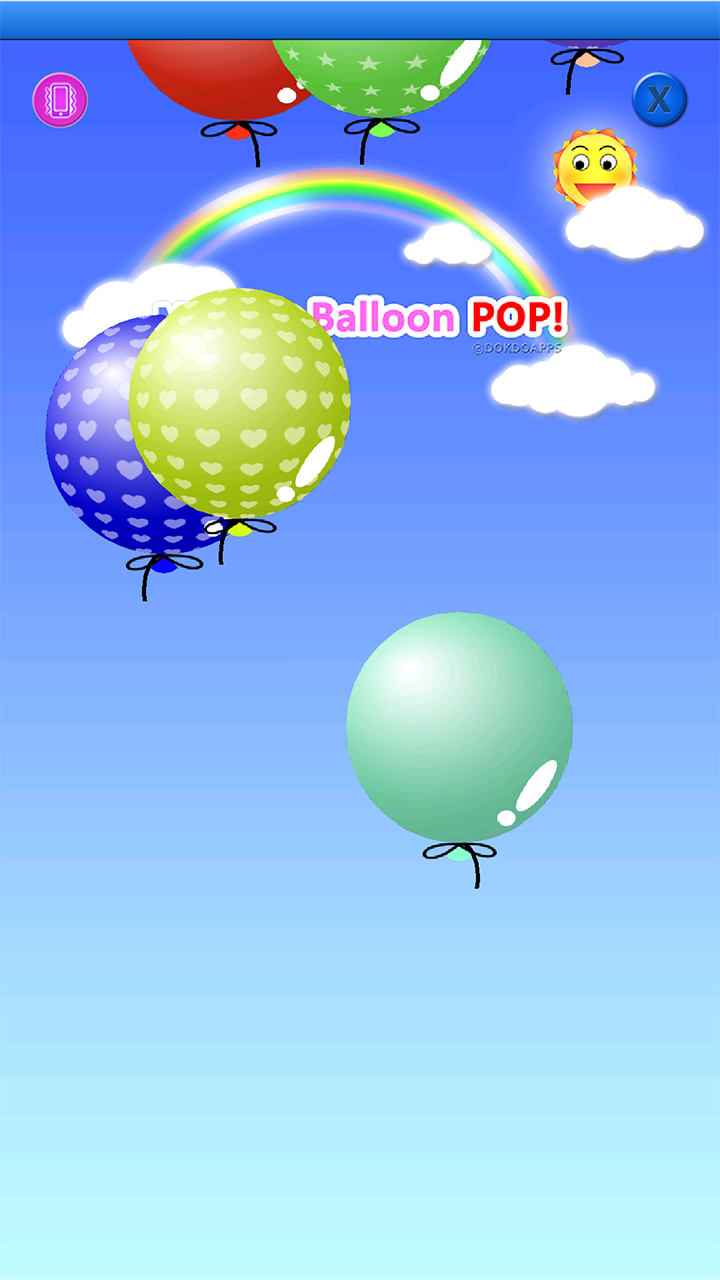 my baby game balloon pop amazon   au appstore for