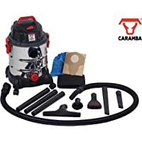 CARAMBA Nass Trocken Sauger Auto 7.0 - Multifunktionaler Autosauger mit Blasfunktion 1250 Watt abgestimmt für die Auto Innenreinigung, Polster, Sitze, Fußmatten, Amaturen