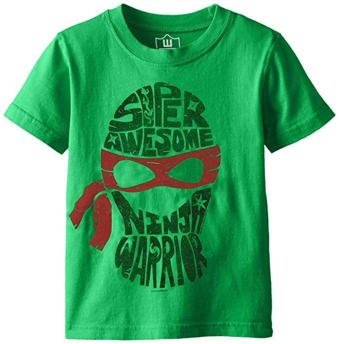 Amazon.com: Wes & Willy Ninja Warrior - Camiseta de manga ...