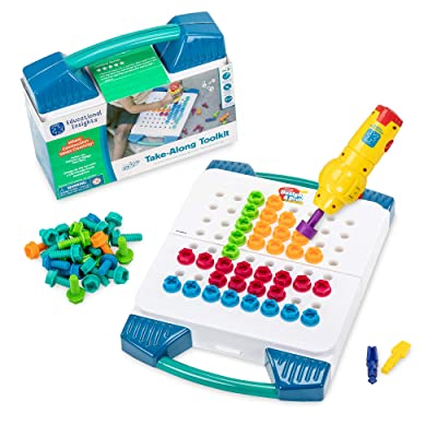 Educational Insights Design & Drill Take-Along Toolkit - STEM Learning with Toy Drill: Toys & Games
