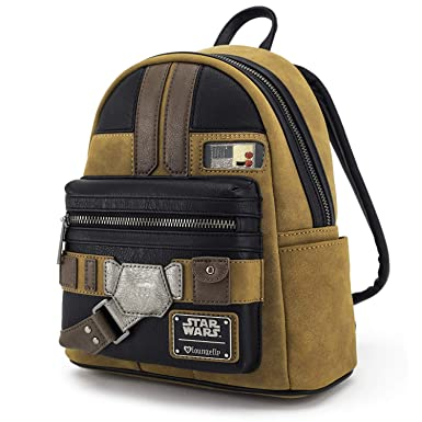 e668371a1a2 Image Unavailable. Image not available for. Color  Loungefly Han Solo A Star  Wars Story Cosplay Mini Backpack