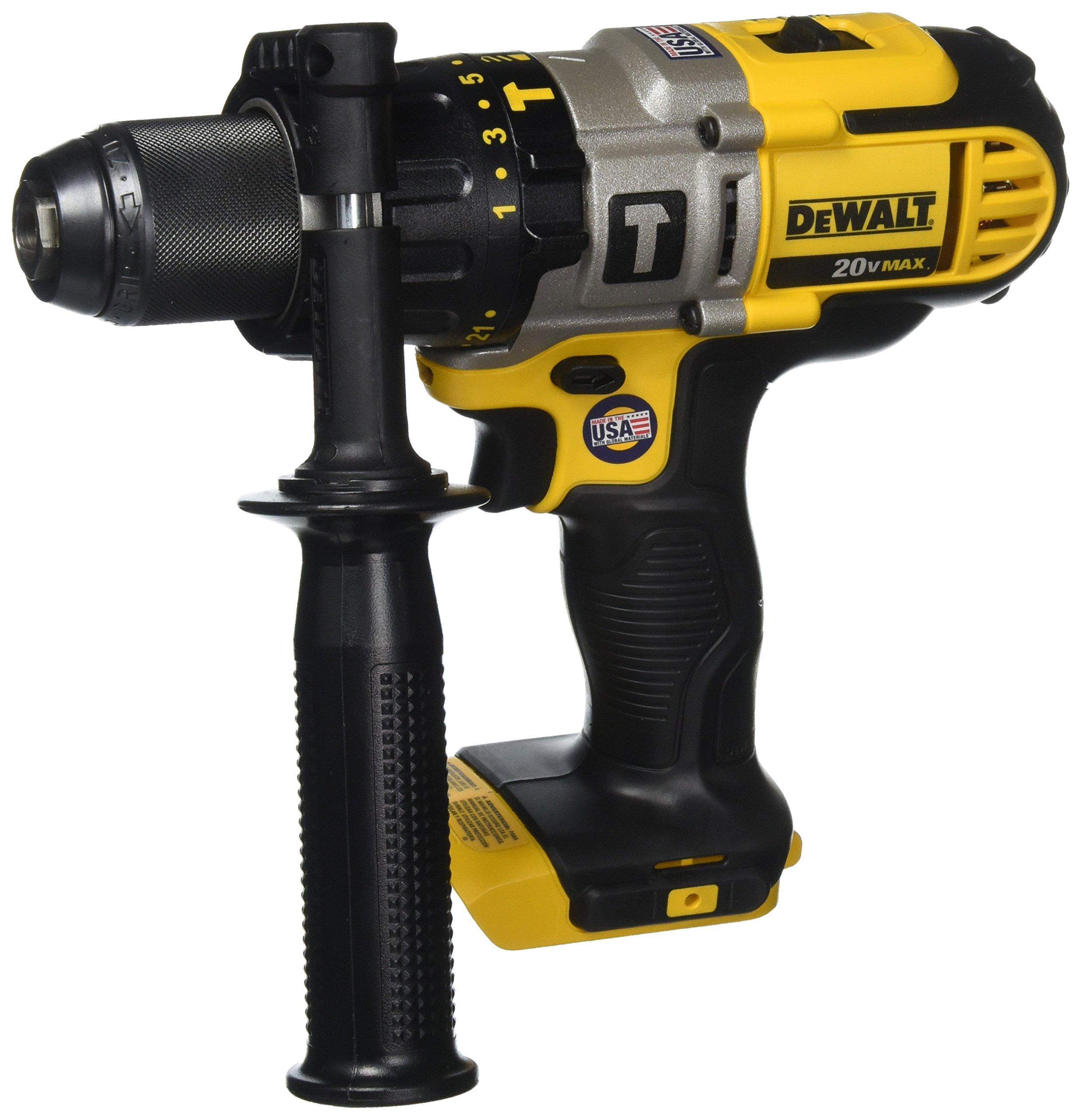 DEWALT DCD985B 20-Volt MAX Lithium Ion 1/2-Inch Hammer Drill/Drill Driver by DEWALT