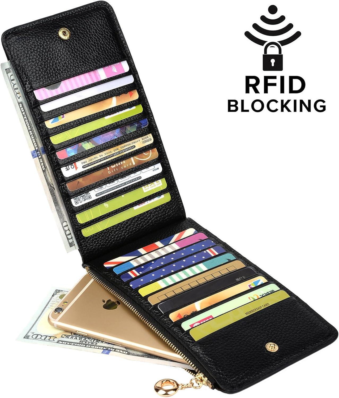 Lady Leather Cash Purse Card Wallet Clutch Double Zipper Small Change Bag Hot QP