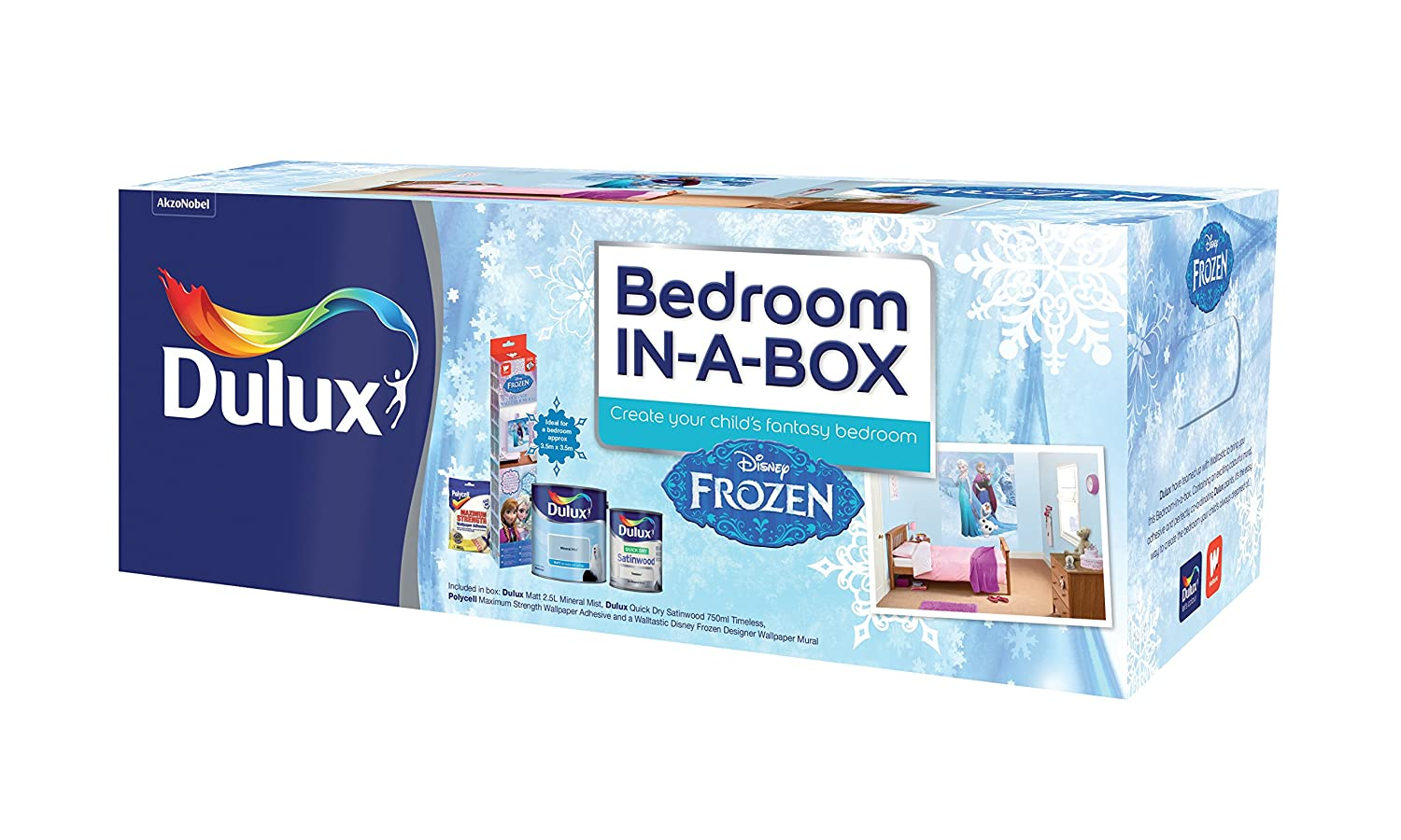 Dulux Bedroom In A Box Frozen Amazon Co Uk Kitchen Home