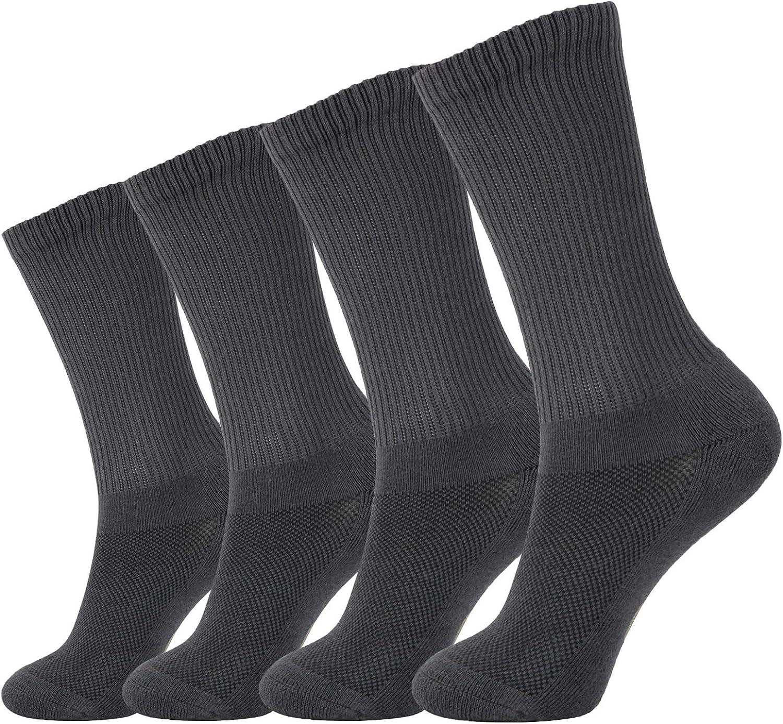 +MD 6 Pares de Confortables Calcetines Unisex en Fibra de Bamb/ú Calcetines de deporte medias