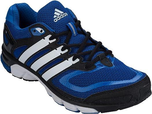 adidas - Zapatillas de Running de Tela para Hombre Azul Azul: adidas: Amazon.es: Zapatos y complementos
