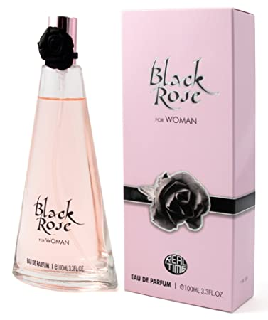 Perfume Black Rose for Women 3.3 oz EDP by Real Time
