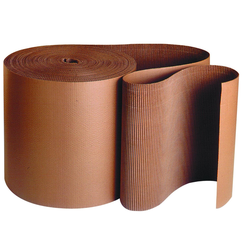 BOX USA BSF24B Singleface Corrugated Roll, B-Flute, 24