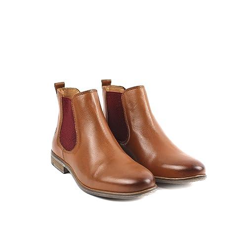 more photos 5d91e 8d379 Apple of Eden Women's Chelsea Boots Brown Size: 5 UK: Amazon ...