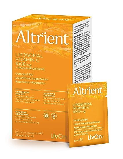 Altrient - Complemento Alimenticio Liposomal vitamina C, 1000 mg
