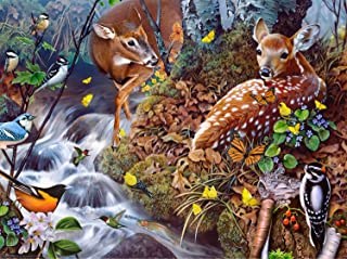 product image for Fawn Song 1000 pc Jigsaw Puzzle by SUNSOUT INC