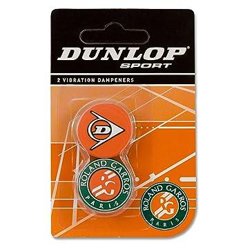 Dunlop Roland Garros - Antivibradores para raqueta, 2 unidades: Amazon.es: Deportes y aire libre