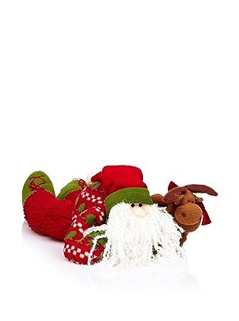 Decoración de Navidad Cojín Puerta Quita Frio Papá Noel ...