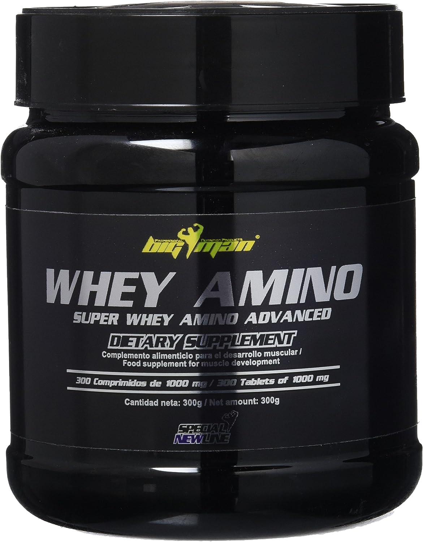 Big Man Nutrition Whey Amino Aminoácidos Ramificados - 300 ...