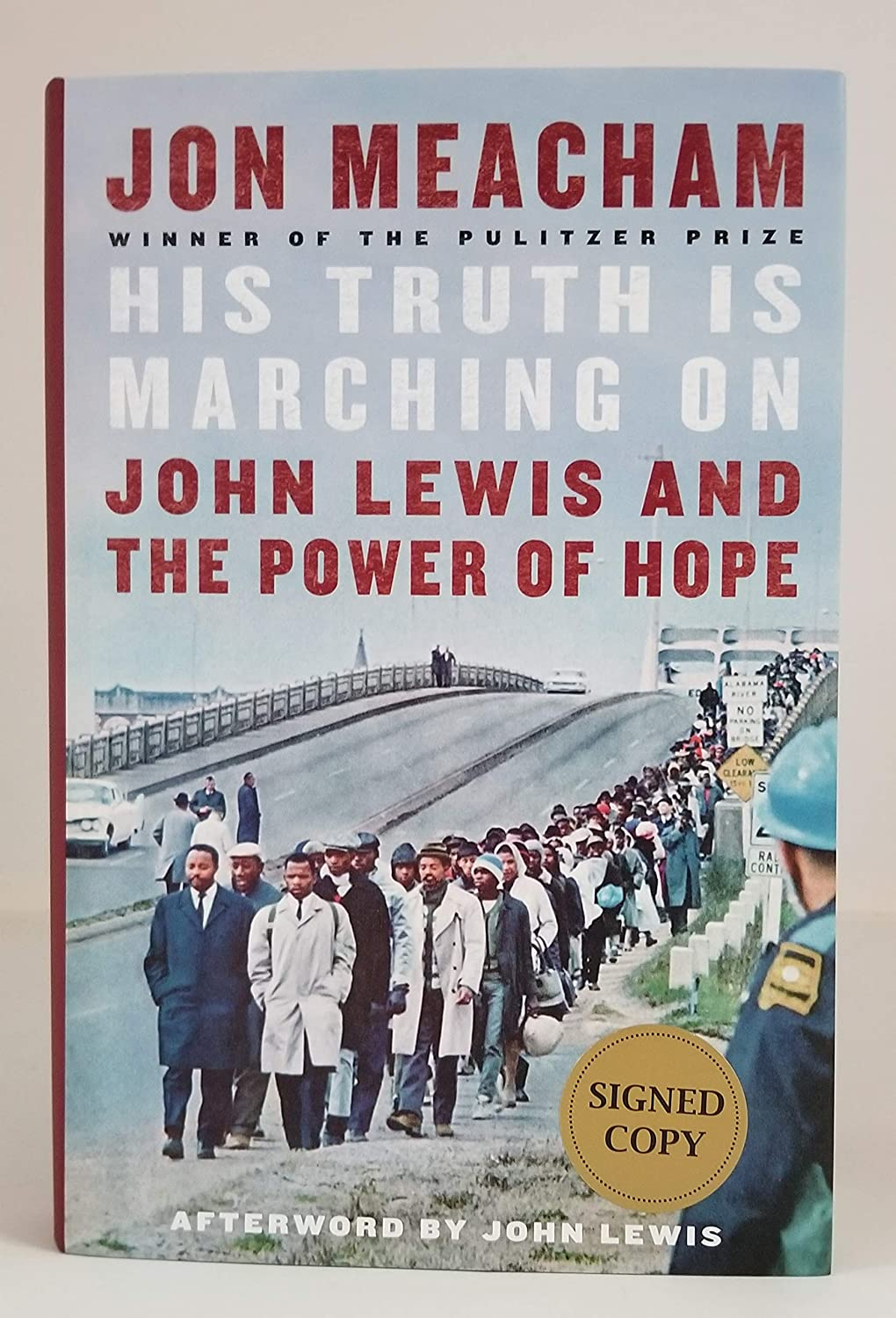 "JON MEACHAM signed""His Truth Is Marching On: John Lewis and the Power of Hope"" (Hardcover) Book FIRST EDITION"