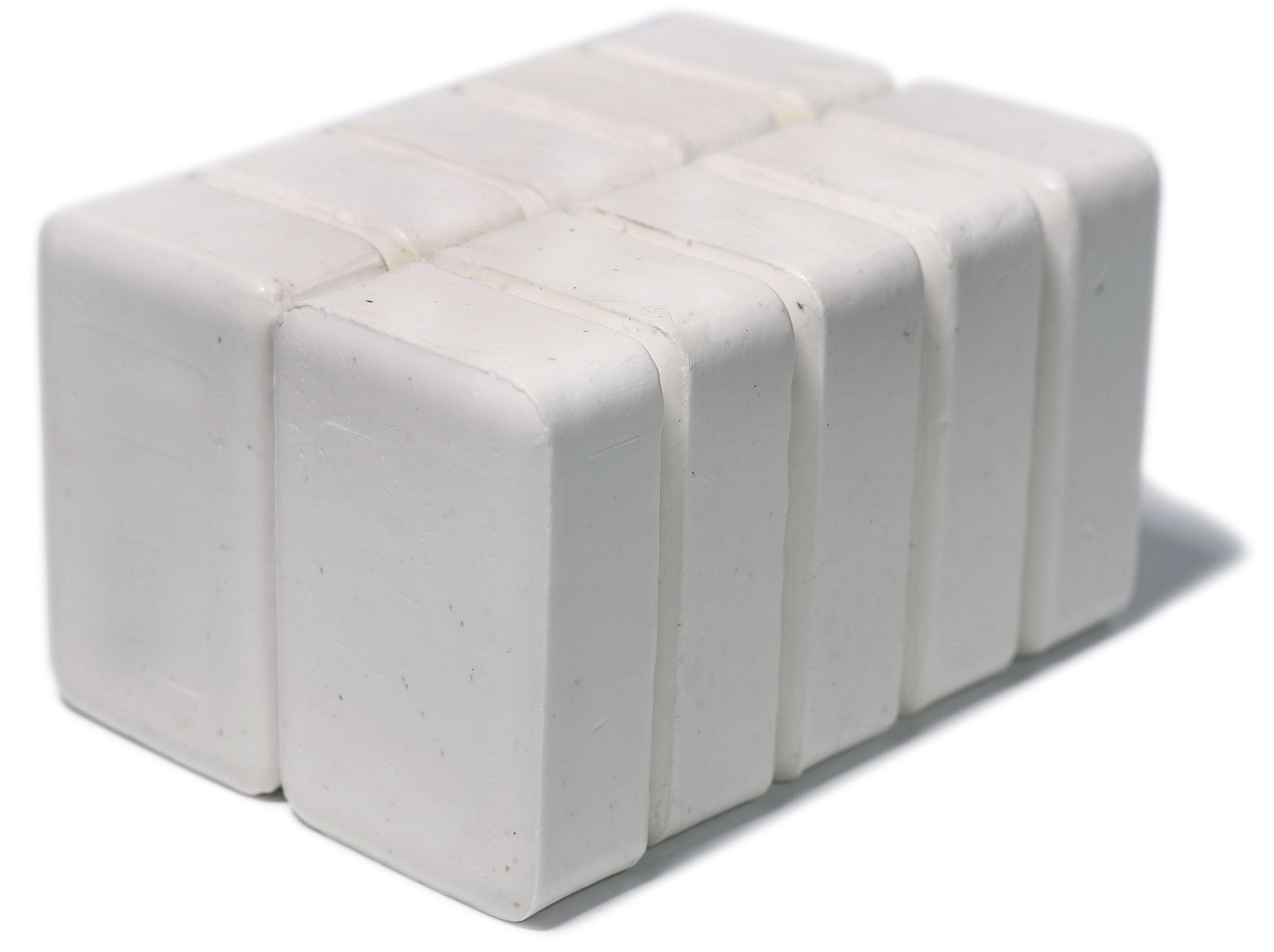 Set of 10 DermaHarmony 2% Pyrithione Zinc (ZnP) Bar Soap 4 oz - Crafted for Those with Skin Conditions - Seborrheic Dermatitis, Dandruff, etc.