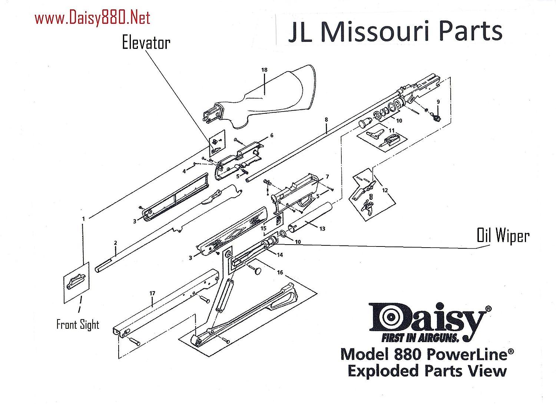 Daisy gun diagram circuit connection diagram amazon com daisy powerline 880 s 880s 7880 pump handle retaining rh amazon com daisy powerline 1000 trigger diagram daisy flower diagram izmirmasajfo