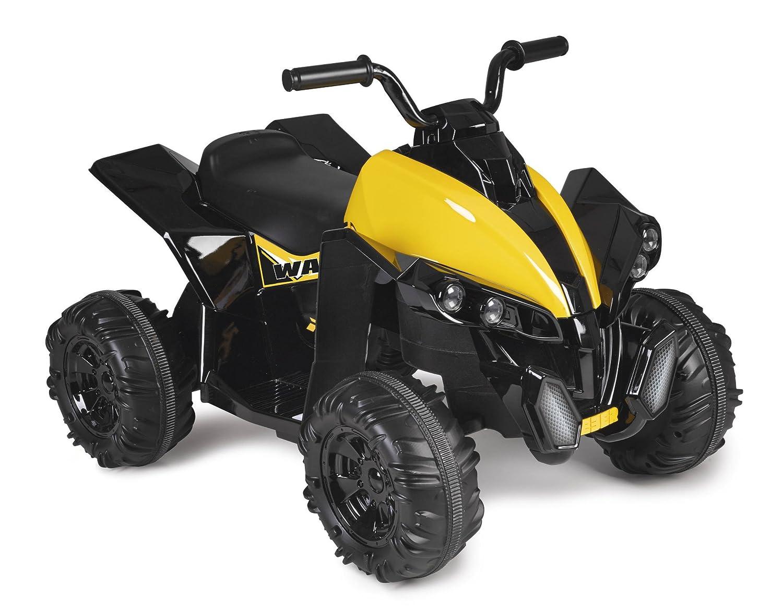 FEBER Famosa 800011149 Wagon - Quad Motorrad Spielzeug, für Kinder von 3 bis 6 Jahren, 12V, schwarz