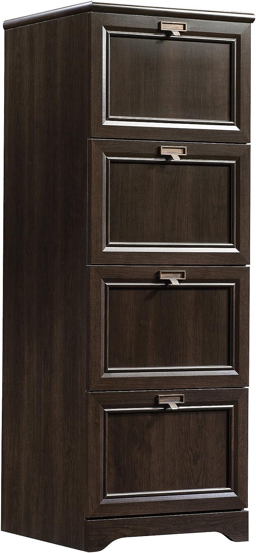 Sauder File Cabinet, Cinnamon Cherry finish