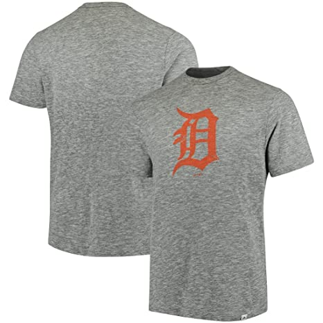 c25d4034 Amazon.com : Detroit Tigers MLB Mens Majestic Fast Pitch Shirt Gray ...
