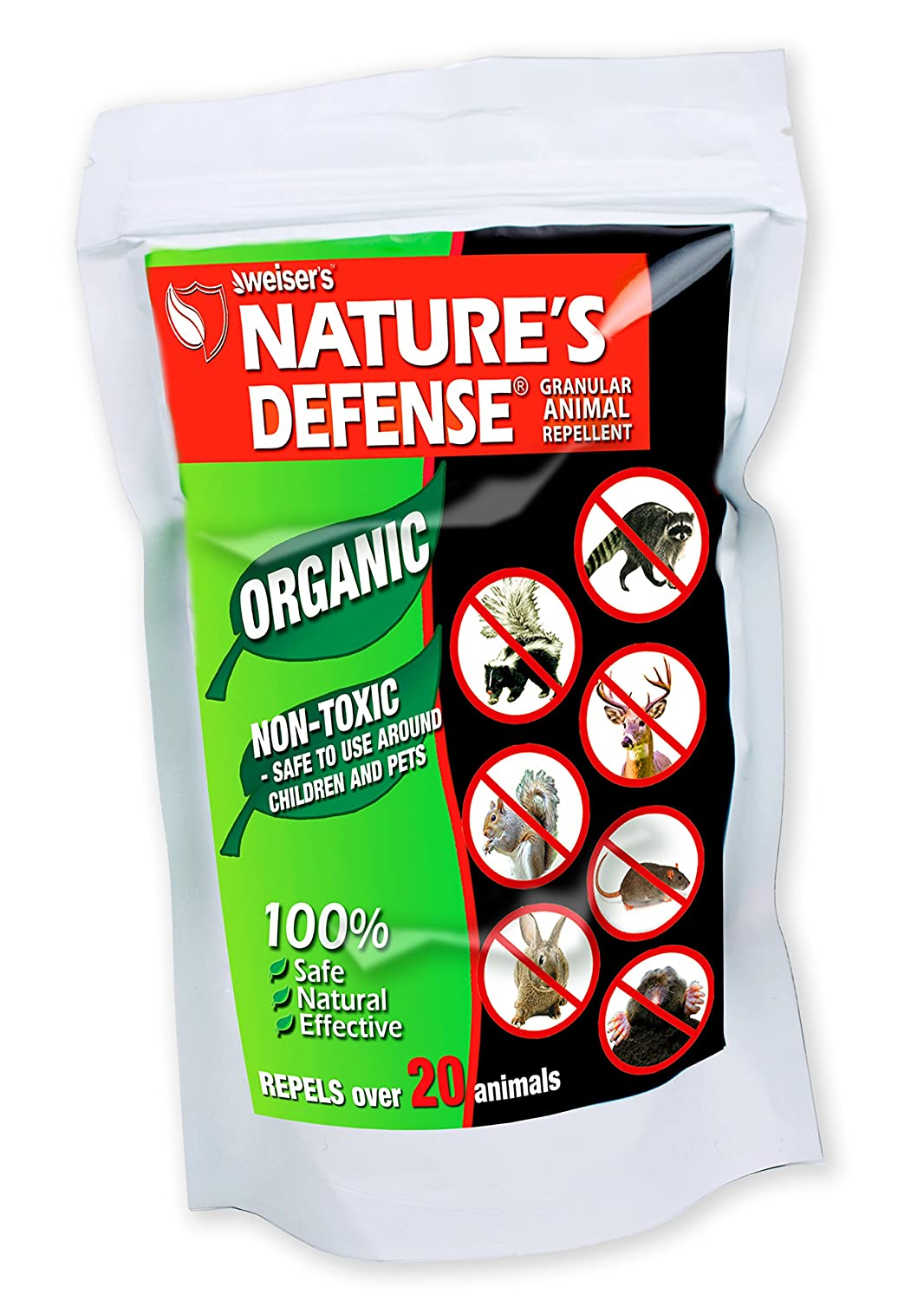 Bird-X Nature's Defense Organic Mouse and Rat Repellent, 22-Ounce, Covers  3,500 sq  ft