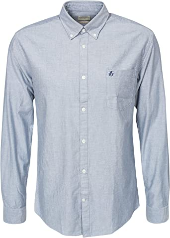 Selected Homme Collect shirt ls r NOOS H, camisa casual hombre Dusty Blue L: Amazon.es: Ropa y accesorios