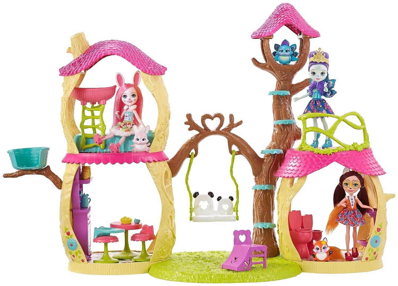 Enchantimals Panda Tree House Playset