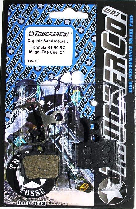 4 pairs MTB CYCLING Disc Brake Pads For Formula R1 Racing RO RX Bike Disc Brake