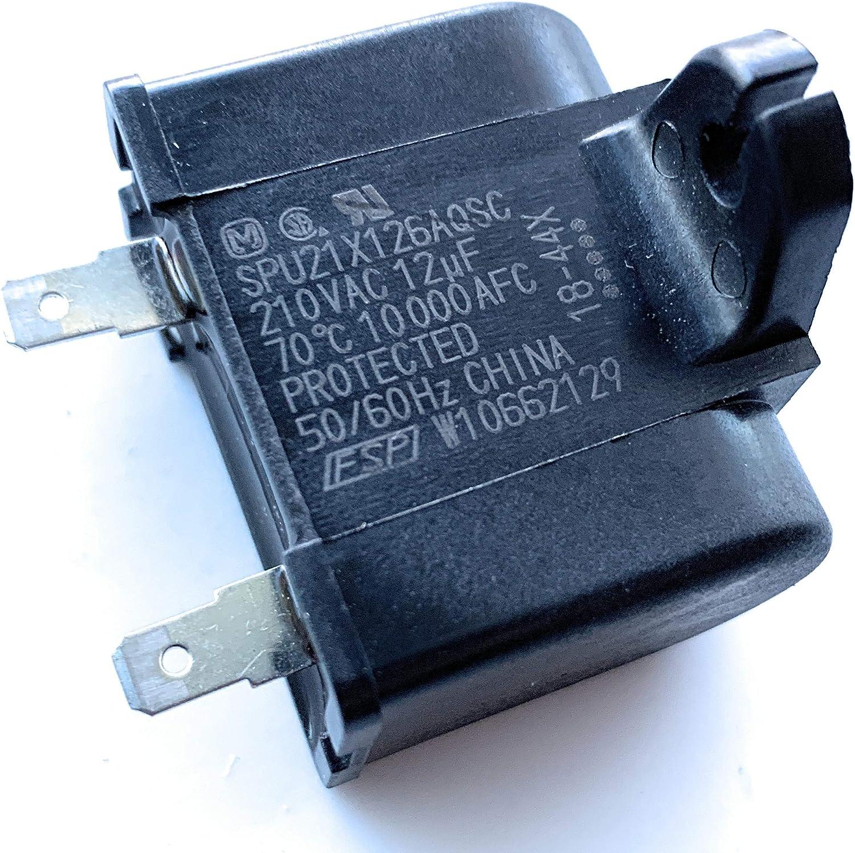 Whirlpool W10662129 condensador de funcionamiento del compresor de ...