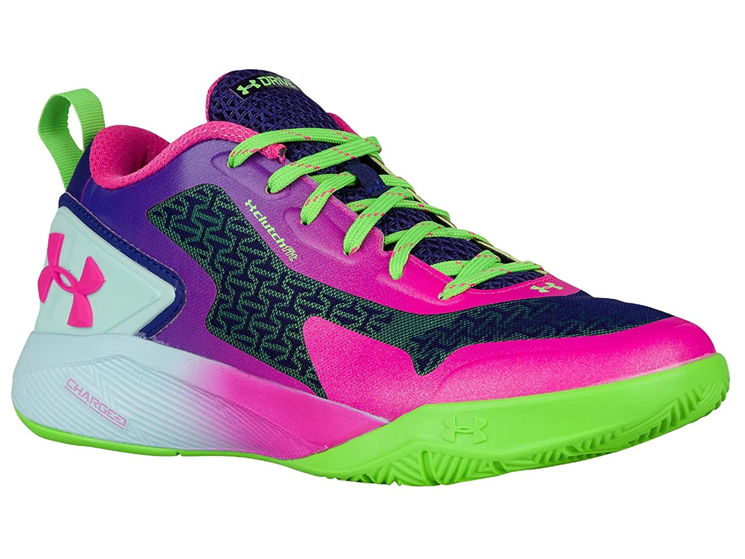 8ccd011862f Under Armour Men s ClutchFit Drive 2 Low Rebel Pink Purple Panic Synthetic Basketball  Shoes 7.5 M US  Amazon.ca  Shoes   Handbags