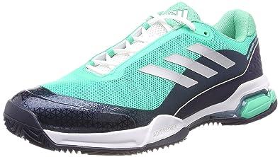 Adidas Barricade Club, Zapatillas de Soft Tenis para Hombre, Verde ...