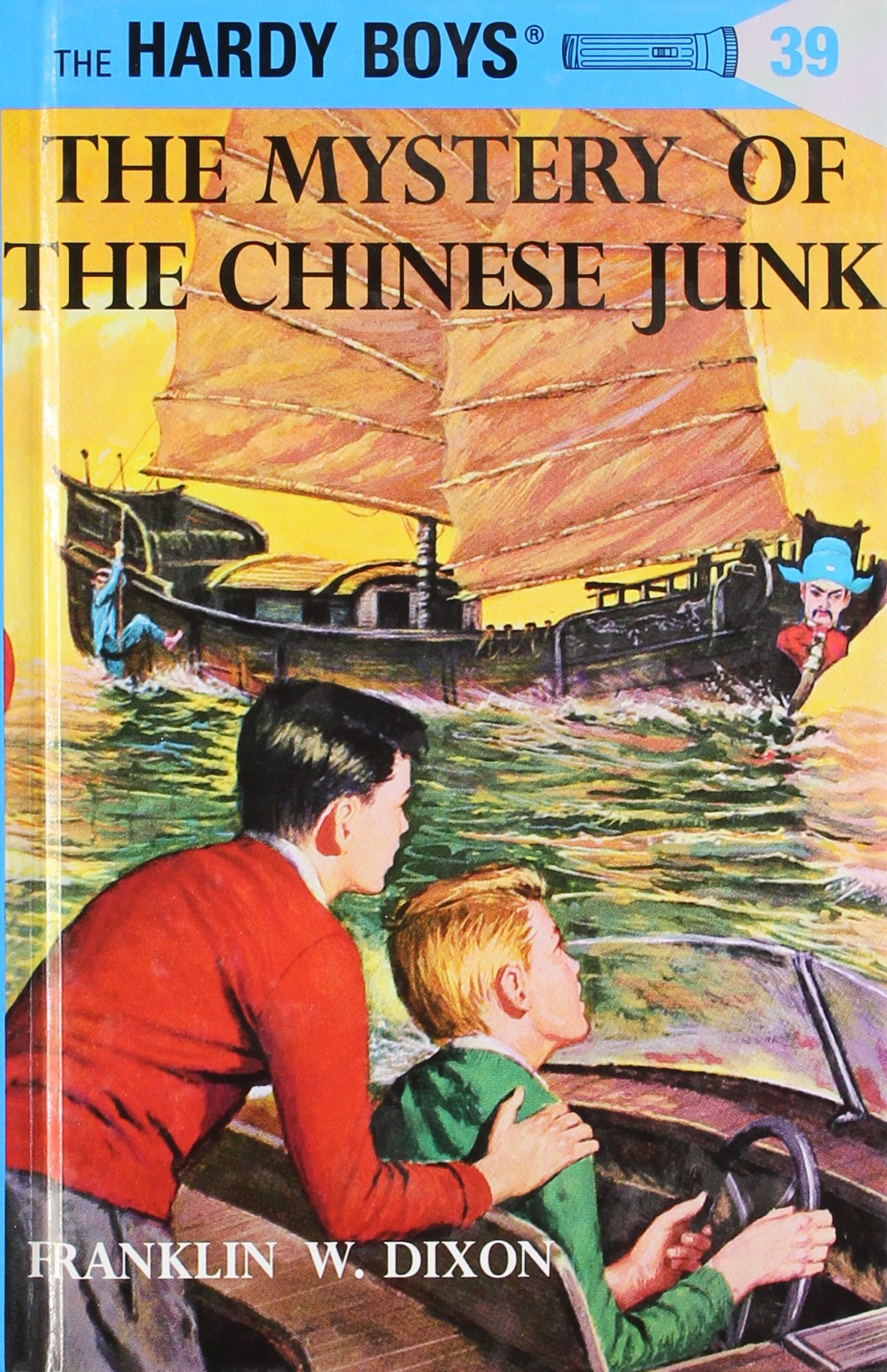 Amazon: The Mystery Of The Chinese Junk (hardy Boys, Book 39)  (9780448089393): Franklin W Dixon: Books